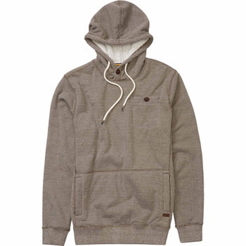 Billabong Surfplus Sherpa Zip Hoodie - Earth Heather