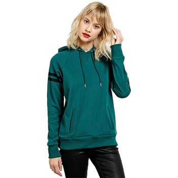 Volcom Gettin Shacked Hoodie - Midnight Green