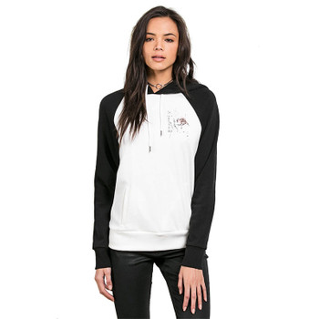 Volcom Gettin Shacked Hoodie - Star White