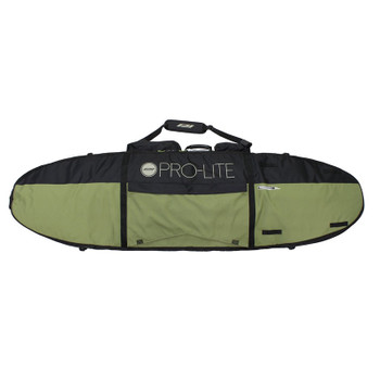 "ProLite 7'0"" Finless Coffin Triple Travel Bag - Green/Black"