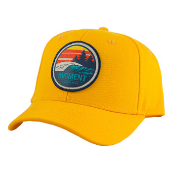 Moment Sunset Waves Patch Hat - Sunshine