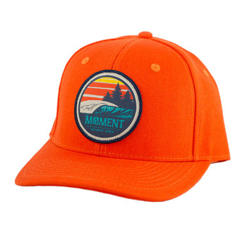Moment Sunset Waves Patch Hat - Tangerine