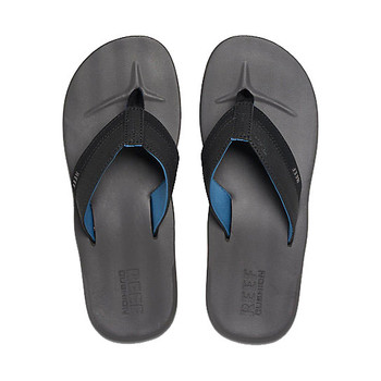 Reef Contoured Cushion Sandal - Grey/Blue