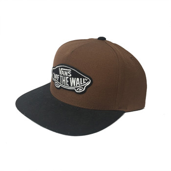 Vans Classic Patch Snapback Hat - Brown