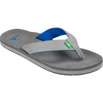 Sanuk Burm Sandals - Grey / Blue