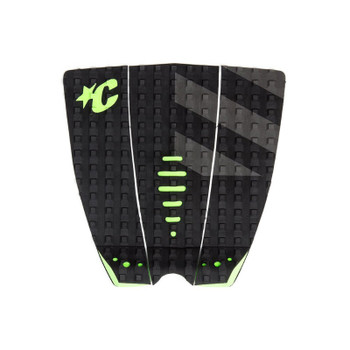 Creatures of Leisure Mick Fanning Signature Traction Pad - Black Grey / Lime
