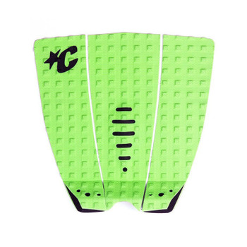 Creatures of Leisure Mick Fanning Lite Signature Traction Pad - Lime / Black
