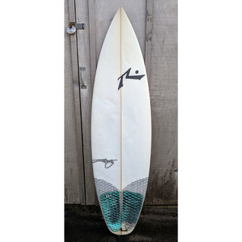 "Used Rusty 5'7"" Yes Thanks Surfboard"