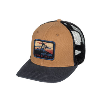 Quiksilver Blocked Out Hat - Wood Thrush