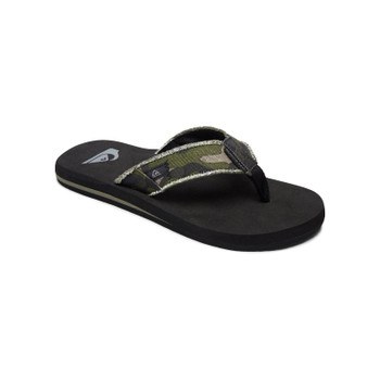 Quiksilver Monkey Abyss Sandals - Green / Brown / Black