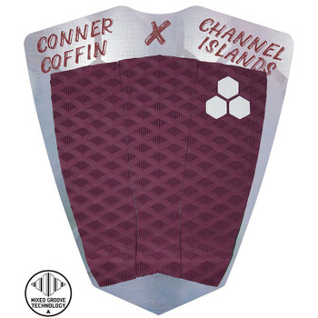 Channel Islands Conner Coffin Traction Pad - Maroon