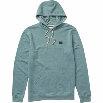 Billabong All Day Pullover Hoodie - Hydro Heather