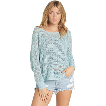 Billabong Dance With Me Sweater - Clearwater