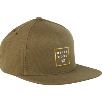 Billabong Stacked Snapback Hat - Olive