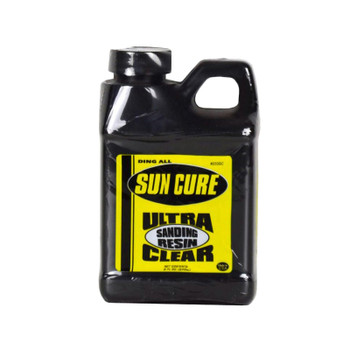 Ding All Sun Cure Ultra Clear Sanding Resin