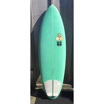 "Used Channel Islands Campbell Brothers Bonzer Biscuit 5'8"" Surfboard"
