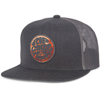 Rip Curl Fresh Wettie Trucker Hat - Heather Grey