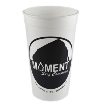 Moment Rock Logo Beer Cup