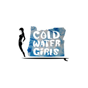 Moment Cold Water Girls Sticker