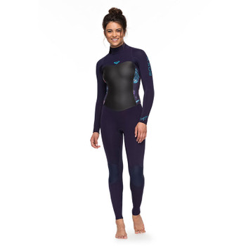 Roxy Womens Syncro 5/4/3 Wetsuit - Blue Ribbon