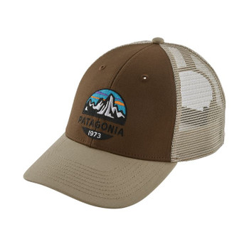 Patagonia Fitz Roy Scope Lopro Trucker Hat - Timber Brown