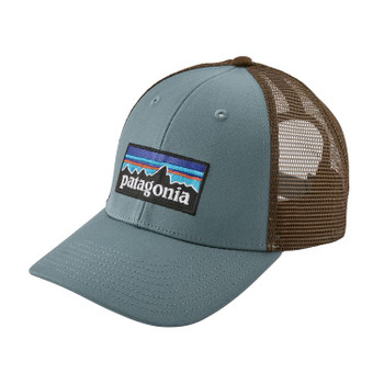 Patagonia P-6 Logo Lopro Trucker Hat -Shadow Blue