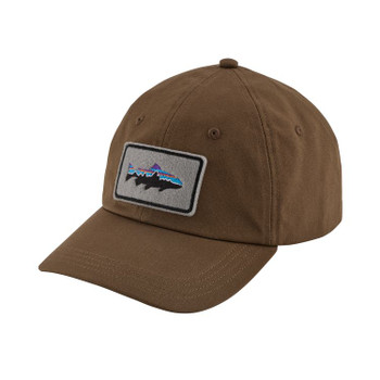 Patagonia Fitz Roy Trout Patch Trad Cap - Timber Brown