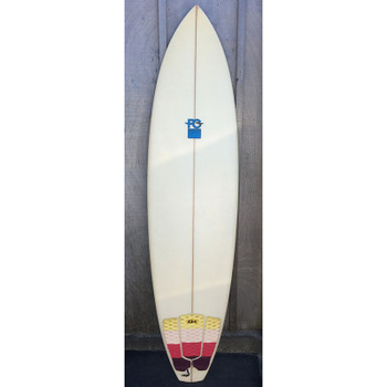 "Used FCD 6'8"" Surfboard"