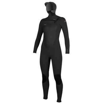 O'Neill Women's Superfreak 5/4 Hooded Wetsuit