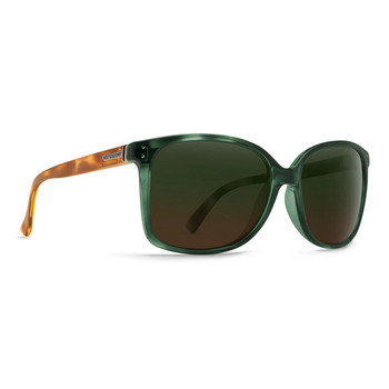 Von Zipper Castaway Sunglasses - Hunter Crystal Tortoise / Green Brown Gradient