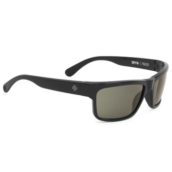 Spy Frazier Sunglasses - Black / Happy Grey Green Polarized