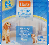 Hartz Home Protection Training Pads, 14 ct