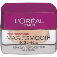 L'Oreal's Magic Smooth Soufflé creates a flawless, silky, even-toned finish. Apply it daily to achieve smooth, poreless perfection. Available in a wide range of tones, Magic Smooth Soufflé is versatile enough to beautify every skin type.