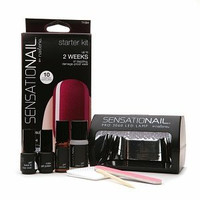 Nailene SensatioNail Gel Polish Starter Kit, Raspberry Wine