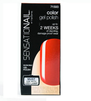 For up to 2 weeks of dazzling, damage-proof wear. Contains 0.25 oz color gel polish and manicure stick
