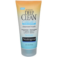 Deep Clean Long Last Shine Control Cleanser Mask by Neutrogena for Unisex 6 oz Cleanser