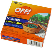OFF! mosquito coil refill 5 count is designed to provide long lasting protection against mosquitoes. Coil features a consumer appealing country fresh scent.