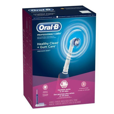 Oral-B ProfessiOral-B Professional Precision 3000 Rechargeable Electric Toothbrushonal Precision 3000 Rechargeable Electric Toothbrush