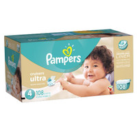 Pampers Cruisers, Size 4- 108 ct