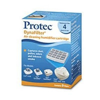 Protec DynaFilter K14 Humidifier Replacement Filter Cartridges, 3 pk