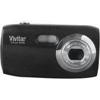 VIVITAR V5118-LIC 5.1 Megapixel V5118 Digital Camera (Black)