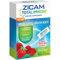 Zicam Total Immune+Digestive Health Packets, Berry, 10ct