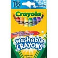 Crayola Washable Crayons 16 ct.