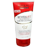 New RevitaLift Radiant Smoothing Cream Cleanser is specially formulated to nourish skin and boost radiance while gently exfoliating and removing all traces of impurities and makeup. Skin looks smoother, brighter and more refined. Helps to remove all traces of makeup and impurities. Gently exfoliates dead skin cells and helps enhance skin smoothness and radiance. When used as part of a complete skincare regimen, this cleanser complements the performance of your daily RevitaLift anti-aging moisturizer action.