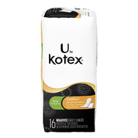 About the Product     U by kotex light days absorbent long pantiliners give more coverage in the front and back and are individually wrapped for on-the-go use     Great panty liners for light to medium period days or back up tampon support for spotting     Touch of natural cotton to stay breathable and have a soft, absorbent core to flex with your body     Kotex Natural Balance Absorbent Long Liners keep you comfy. Our panty liners are breathable with a touch of natural cotton.     Unscented long pantiliners; free of artificial scents and fragrances.     Soft on your skin. Cover includes a hint of aloe and Vitamin E.     Conforms to fit. Kotex Natural Balance Absorbent Liners have a soft, absorbent core that comfortably flexes with your body.     Kotex Natural Balance Absorbent Long Liners are available in 16ct and 42ct packages.
