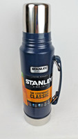 Stanley Insulated Bottle (SS, Vacuum, 1.1 Qt, Navy)