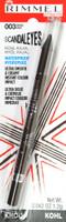 Rimmel Scandaleyes Waterproof Kohl Kajal Eyeliner, 003 Brown