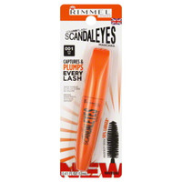 Rimmel London Scandal Eyes Volume Flash Mascara, 001 Black