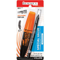 Rimmel Scandal Eyes Curve Alert Mascara, 2 pack, 001 Black