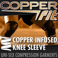 Copper Fit Compression Infused Knee Sleeve, XL
